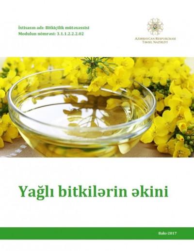 """""""Yağlı bitkilərin əkini"""" modulu üzrə dərs vəsaiti"""