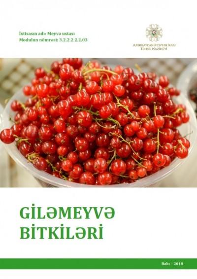 """""""Giləmeyvə bitkiləri"""" modulu üzrə dərs vəsaiti"""