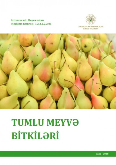 """""""Tumlu meyvə bitkiləri"""" modulu üzrə dərs vəsaiti"""
