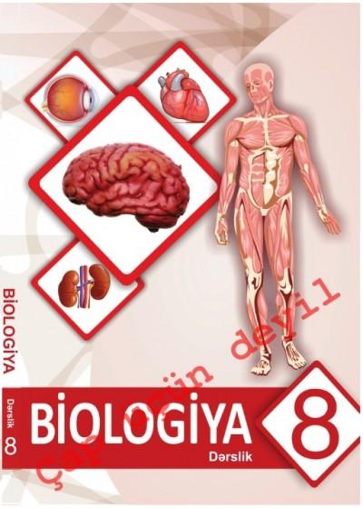 """""""Biologiya"""" fənni üzrə 8-ci sinif üçün dərslik"""